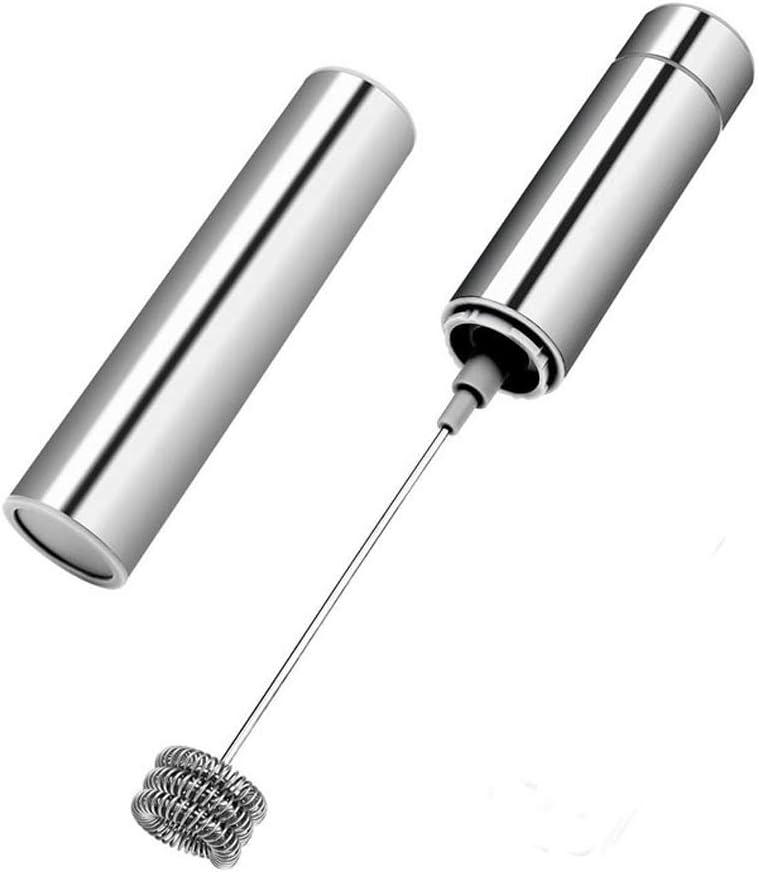 Bycws - Máquina para Hacer Espuma con vaporizador eléctrico, Mezclador de batidor de café, Mini licuadora y Leche espumosa espumosa Capuchino
