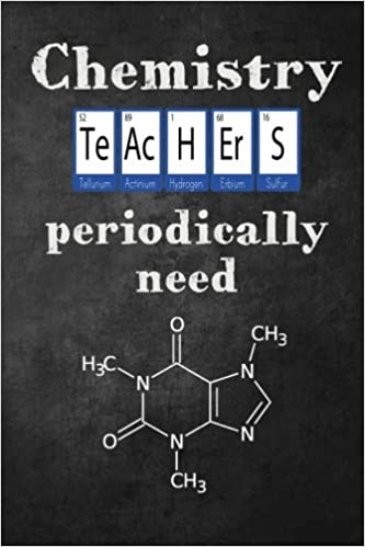 Chemistry Teachers Periodically Need Caffeine Funny