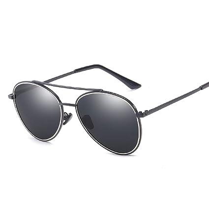 Gafas de sol polarizadas Tendencia de metal clásico Hombres