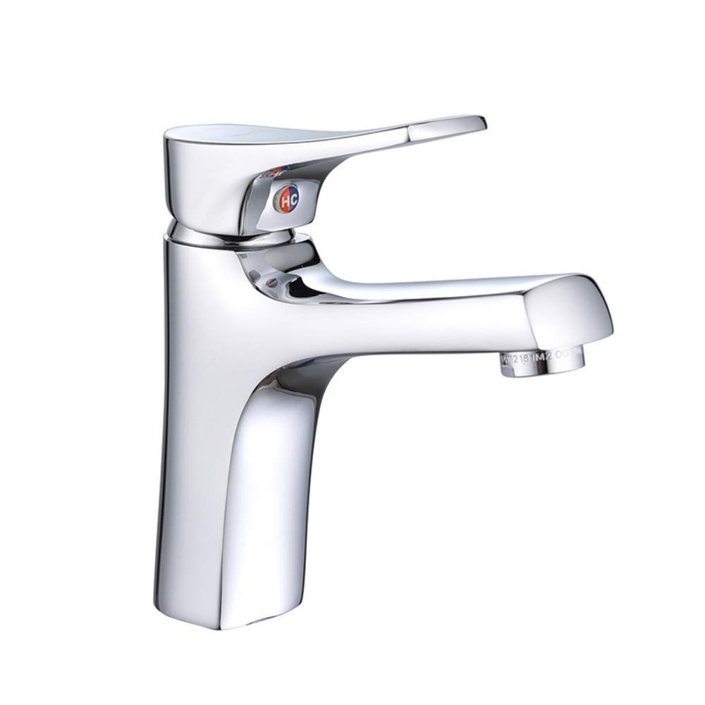 Floungey Kitchen Bathroom Sink Taps copper Hot And Cold Copper Basin Faucet Bathroom Toilet Washbasin Faucet Mixing Valve