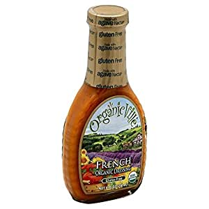 OrganicVille Organic French Dressing, 8 Ounce - 6 per case.