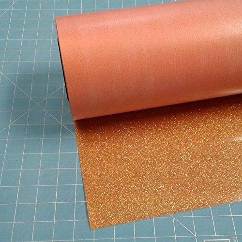 Translucent Orange Siser Glitter 20