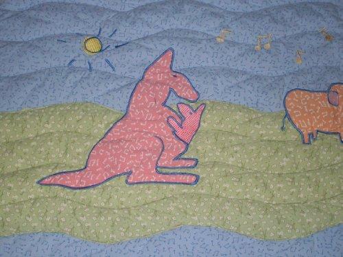 John Lennon Baby Blanket Quilt - Real Love / Musical Parade Keepsake by Lennon (Image #4)