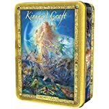 MasterPieces Rhiannon - Woman with Wolves 1000 Piece Tin Box Jigsaw Puzzle by Kinuko Craft