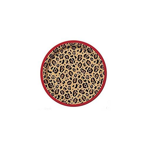 Cheetah Animal Print Small Plates