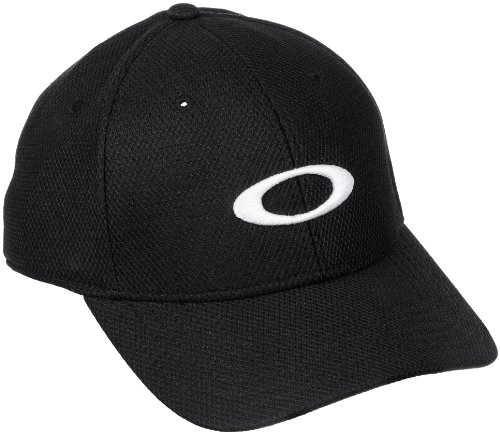 Oakley Men's Golf Ellipse Hat Hat, -Jet Black, One - Oakley Golf Gear