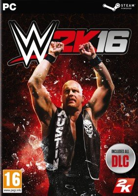WWE 2K16 pc dvd-ის სურათის შედეგი