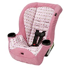 Give your child a comfy rear-facing ride all the way up to 40 pounds! The Apt 40RF convertible car seat allows babies to remain in a safer rear-facing position up to 40 pounds and 40 inches in height. Tall toddler? The Apt moves into a forwar...