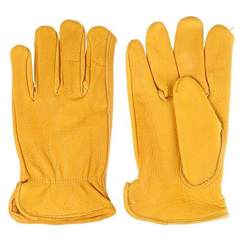 Tuff Mate Gloves Mens Tuff Mate 1508 Elkskin Glove M Tan