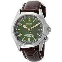 Seiko Men's SARB017 Mechanical Alpinist Analog Automatic Self Wind Brown Watch