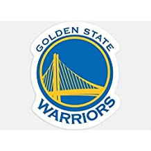 Golden State Warriors Official NBA 4 inch x 4 inch Die Cut Car Decal by Wincraft Model: