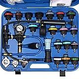 Docooler 28pcs Universal Radiator Pressure Tester Vacuum Type Cooling System Test Detector Kits