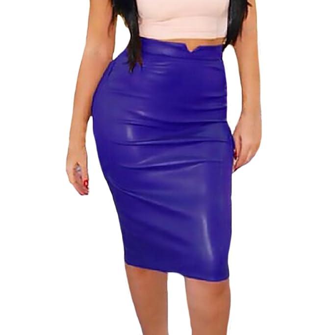Saoye Fashion Faldas Midi Mujer Niñas Ropa Elegante Otoño Invierno ...