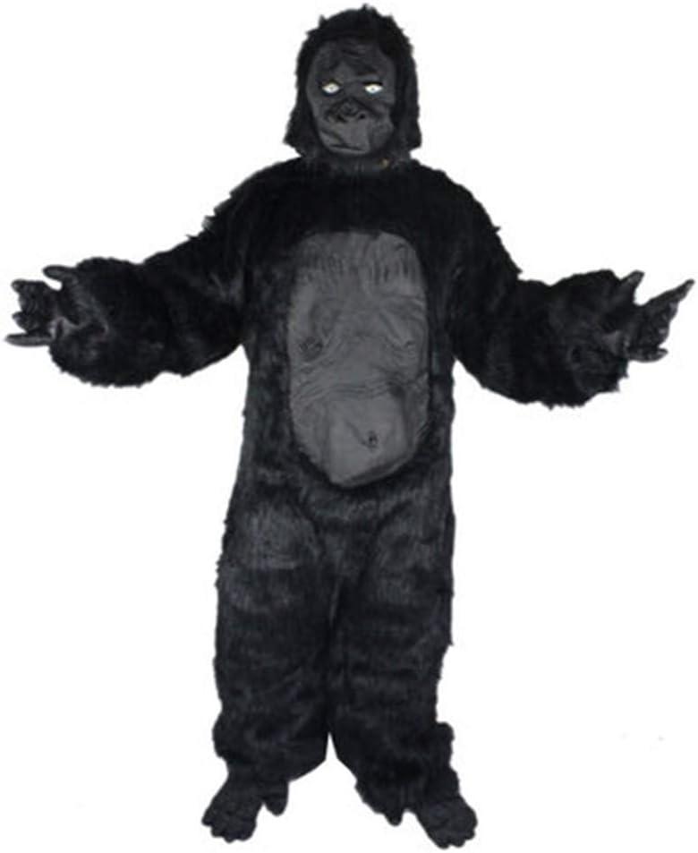 NBRTT Disfraz de Halloween Gorila para niños, Forma Realista ...