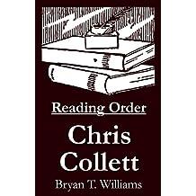 Chris Collett - Reading Order Book - Complete Series Companion Checklist