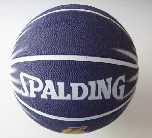 LA Lakers Spalding Offical Team Logo Outdoor Basketball