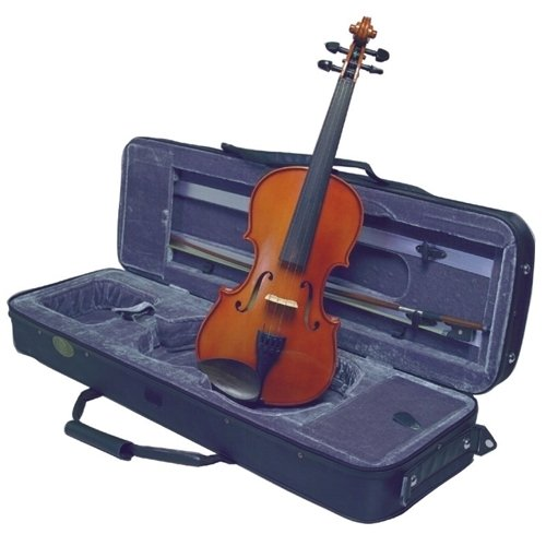 Musino 3000 Series Violin Outifts VN3034 Electric Violin, Amber by Musino
