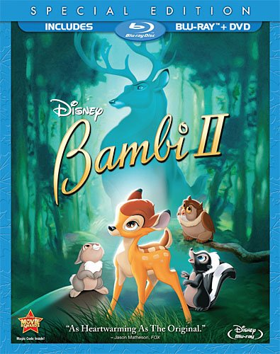 Bambi II (Two-Disc Special Edition Blu-ray / DVD Combo in Blu-ray Packaging) -