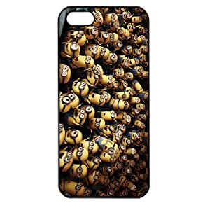 Despicable Me Minions Apple iPhone 5 TPU Soft Black or White case (Black)