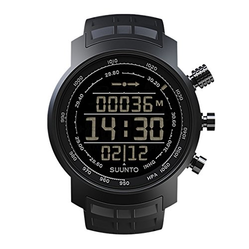 Wristwatch (Watch) Suunto Elementum Terra All Black Rubber