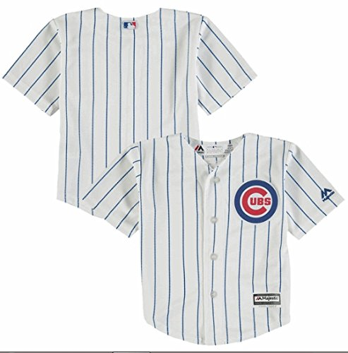 Chicago Cubs Home Replica Blank Back Kid's Jersey Size 4