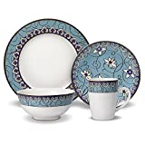 Pfaltzgraff Water Lily 32-Piece Dinnerware Set, Service for 8