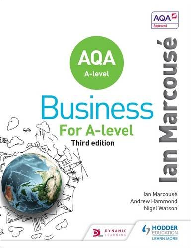 Price comparison product image Aqa Business for a Level (Marcouse)