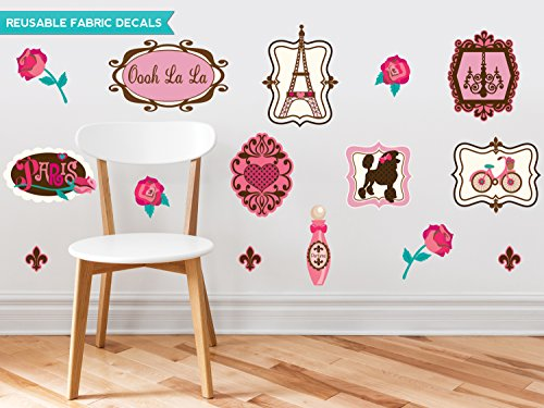 Sunny Decals Paris Farbric Wall