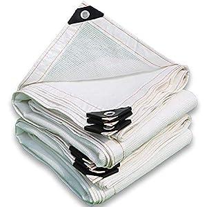 Giow Shade telo protezione solare in polietilene bianco antistrappo anti-polvere, 23 misure (colore: bianco, dimensioni… 6 spesavip