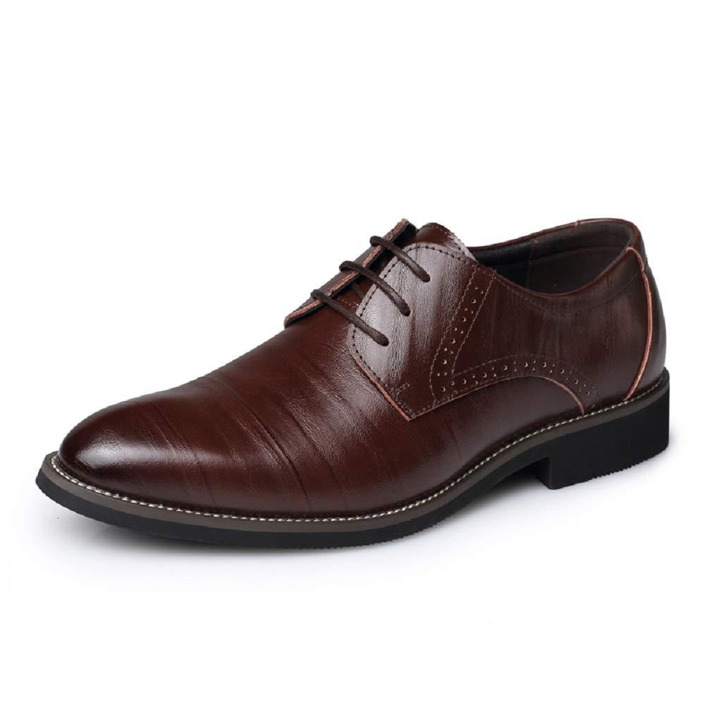SHANGWU Lederschuhe der Männer Einzelne Schuhe Geschäft Schuhe Große Größe Wies Männer Schuhe Casual Gürtel Samt Schuhe, Warme Hochzeit Schuhe