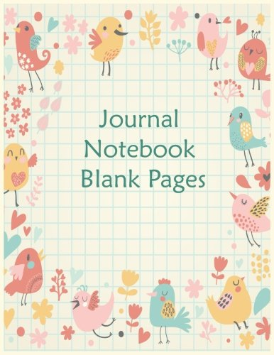 Journal Blank Book: 8.5 x 11, 120 Unlined Blank Pages For Unguided Doodling, Drawing, Sketching & Writing