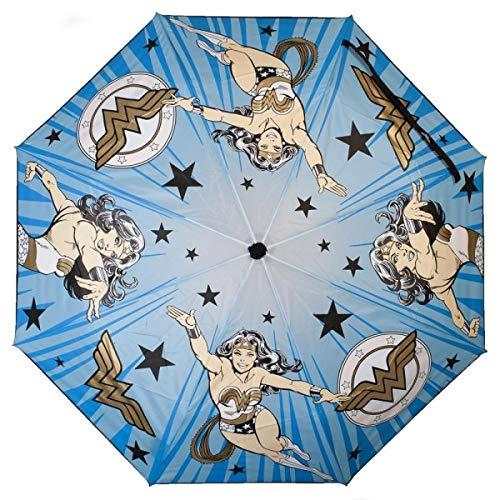 Bioworld Merchandising / Independent Sales DC Comics Wonder Woman Liquid Reactive Umbrella ()