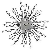 Hippih Metal Decorative Wall Clock for Home Decor, ZSZ-D