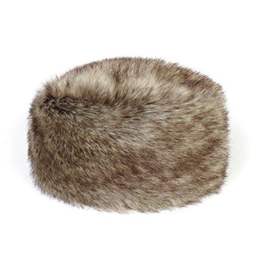 Étui à rabat en imitation fourrure pill-box Hat par Helen Moore