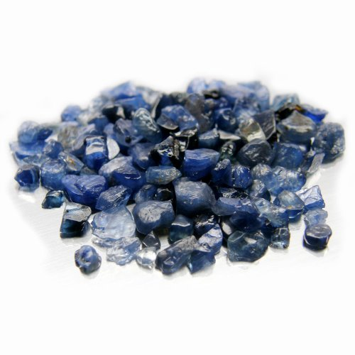 thaigeneration 50.00 Ct. Unheated Natural Rough Blue Sapphire Cambodia Small Size