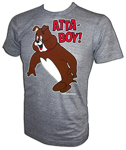 Vintage 1973 MGM Tom and Jerry Orig Licensed Spike American Bulldog Classic Cartoon Gym T-Shirt -