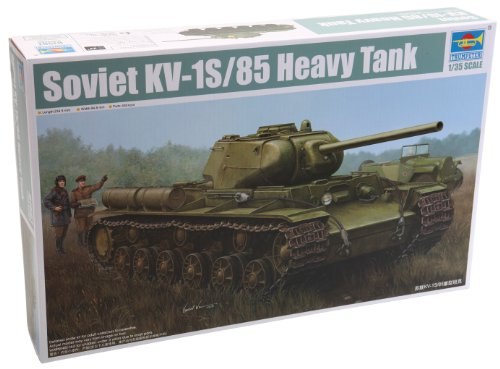 Trumpeter KV-1S/85 Soviet Heavy Tank Model Kit, Scale 1/35 ()