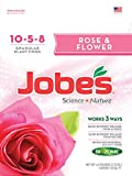 rose bush fertilizer - Jobe's Granular Flower & Rose Fertilizer, Science + Nature Fertilizer for All Flowering Plants, 3.5 pound bag