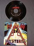 hysteria / ride into the sun 45 rpm single