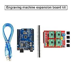 Doble 1 Ajuste la Tarjeta de expansión del Controlador A4988 + Uno ...