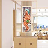 Yeefant Shower Lady Embroidery Paintings No Fading