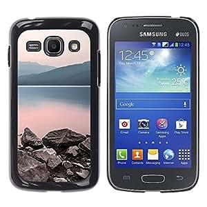 TopCaseStore / la caja del caucho duro de la cubierta de protección de la piel - Nature Calm Lake - Samsung Galaxy Ace 3 GT-S7270 GT-S7275 GT-S7272