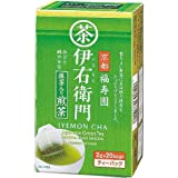 Dew of Uji tea Fukujuen Iemon Matcha input Sencha TB 20 bag X12 boxes