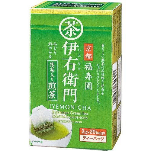 Dew of Uji tea Fukujuen Iemon Matcha input Sencha TB 20 bag X12 boxes by Dew of Uji tea