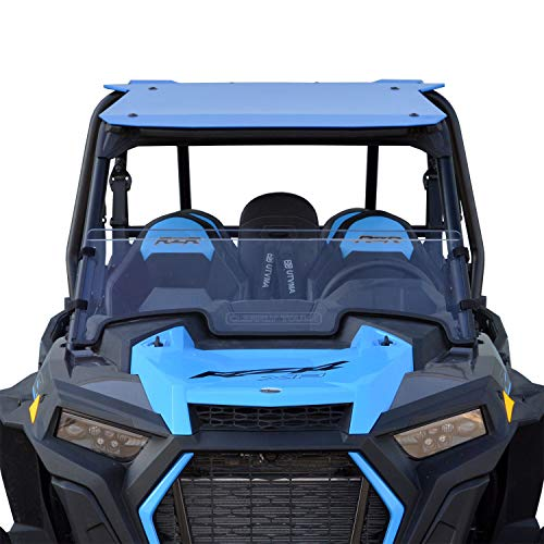 - 2019 Polaris RZR XP / XP4 1000 / Turbo Half Windshield - SCRATCH RESISTANT - Easy on/Easy off! - Hard CoatMade in America!