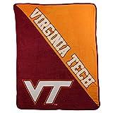 The Northwest Company NCAA Half Tone Super Soft Plush Throw Blanket (Virginia Tech Hokies)