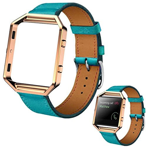 GBSELL Luxury Genuine Leather Fitbit