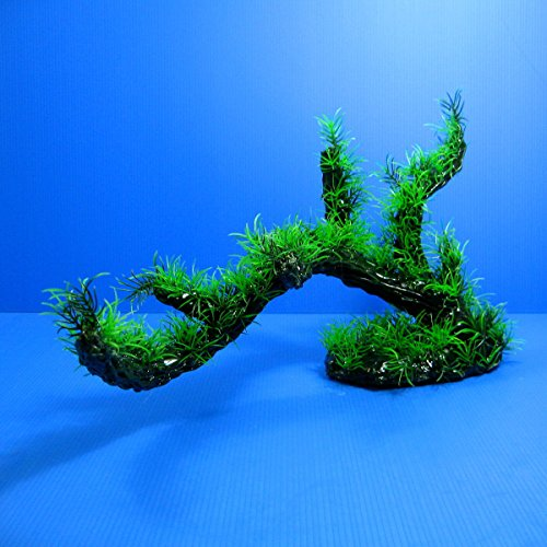 3D Aquarium Sea Hibiscus PLASTIC PLANTS Ornament Fish Tank Decor by Aquarium Equip