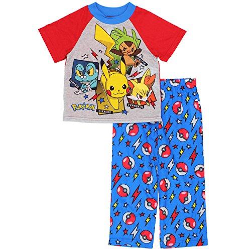 Pokemon Boys Pajamas Little Kid