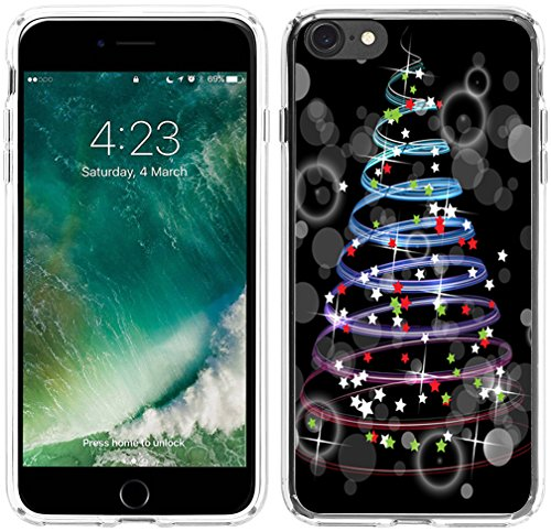 Iphone 6 Case Christmas,Hungo Apple Ipohone 6S Case Christmas Theme Colorful Design